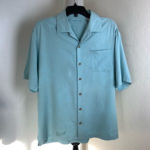 Tommy Bahama Embroidered shirt large